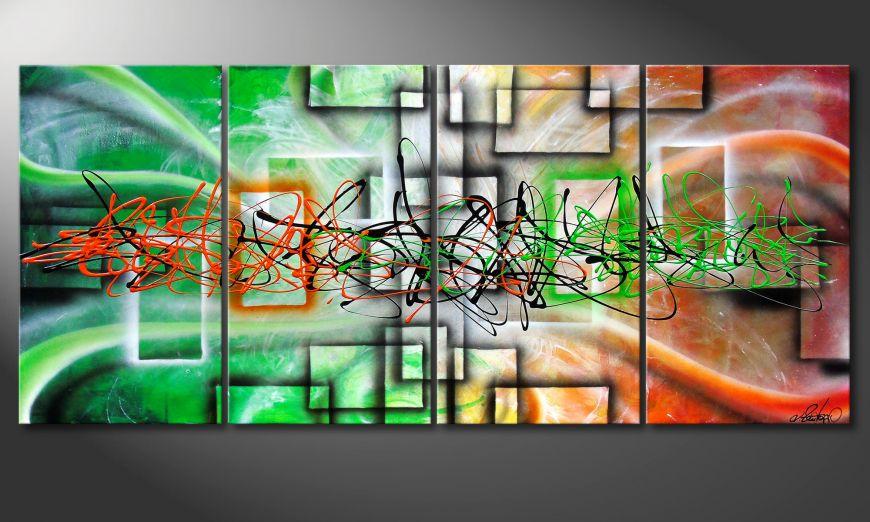 Between Future & Past 160x70x2cm Wandbild