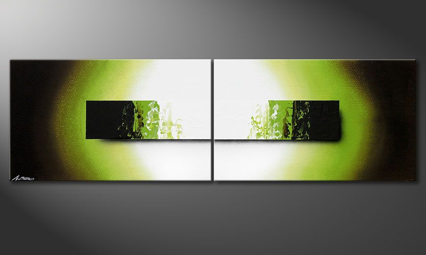 Das Keilrahmenbild Jungle Fever 200x60x2cm