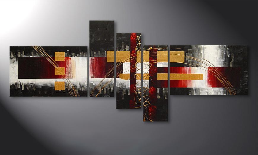 Das Keilrahmenbild Spaces for Love in 180x80x2cm