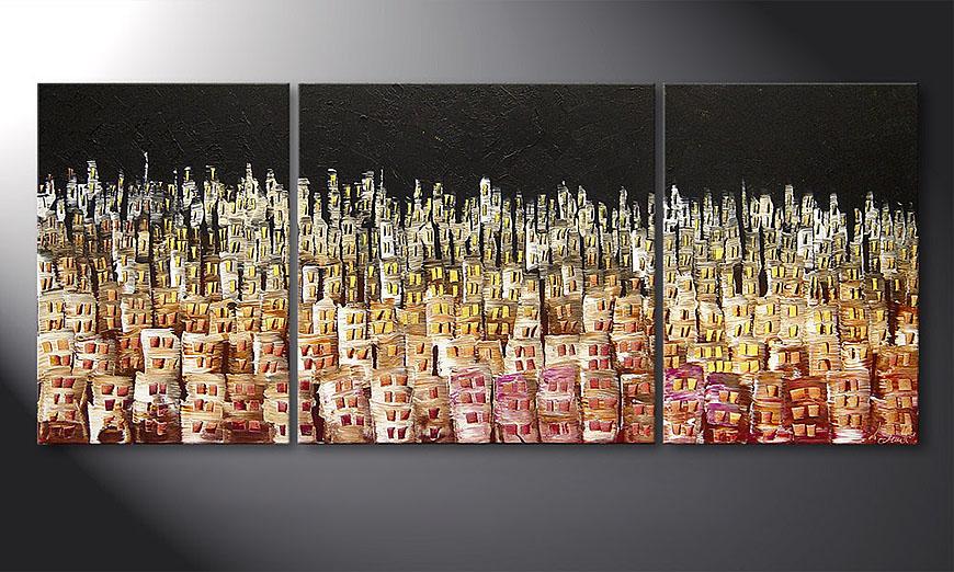 Das Wandbild Summer Heat 170x70x2cm