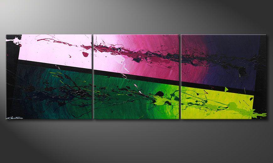 Das Wandbild Tropic Splash 210x70x2cm