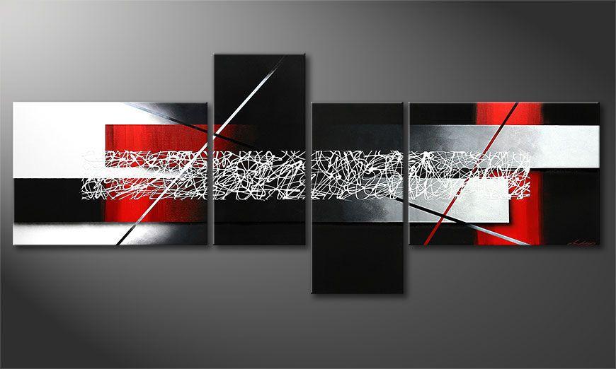 Das XXL-Bild Sudden Inspiration 240x100x2cm