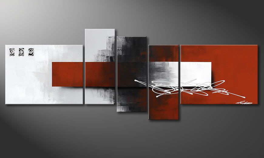 Das ausgefallene Bild Follow your Dream 160x60x2cm
