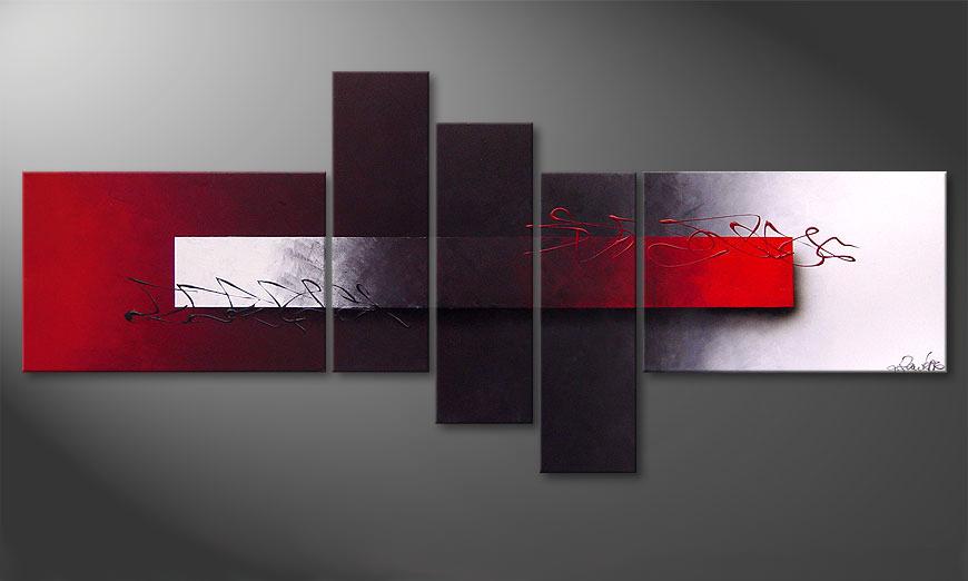 Das moderne Bild Opposites Attract 180x80x2cm