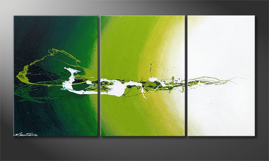 Das moderne Bild Power of Nature 140x70x2cm