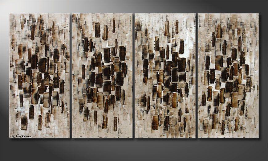 Das moderne Wandbild Broken Lights 160x80x2cm