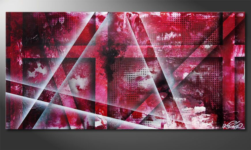 Favorable Emotion 100x50cm Wandbild