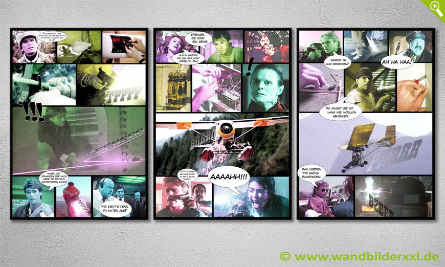 Unser modernes Wandbild Mac Gyver 150x70x2cm