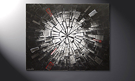 Das Wandbild 'Center of Light' in 100x80cm