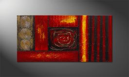 Das Wandbild 'Emotional Moments' 120x60cm