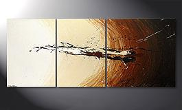 Das Wandbild 'Power of Earth' 170x70cm