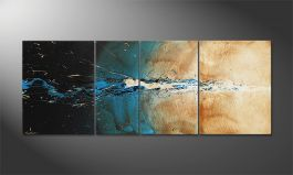 Das Wandbild 'The Source' in 170x70cm