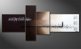 Das XXL-Bild 'Between Night & Day' 220x100cm
