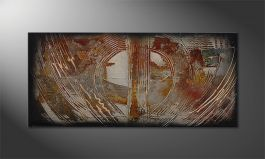 'Traces of Past' 110x50cm Wandbild