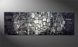 Unser Wandbild 'Moonlit Night' 240x80cm