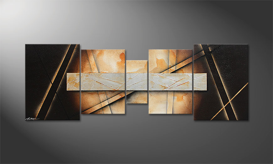 Das Wohnzimmerbild Desert Treasure 200x70x2cm