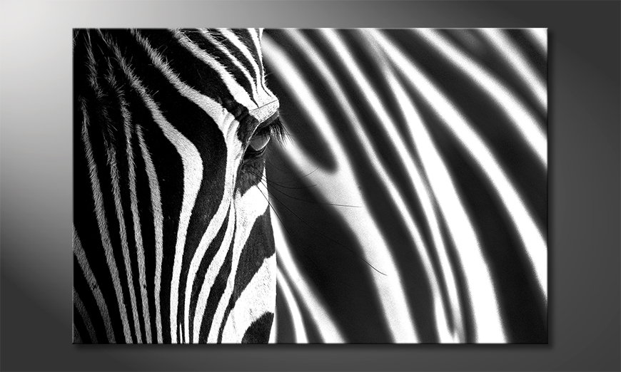 Das Wandbild Animal Stripes
