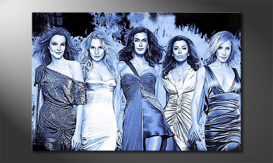 Das Wandbild Desperate Housewives