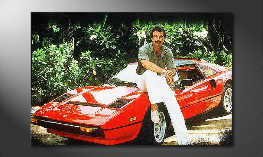 Das Wandbild Ferrari Magnum