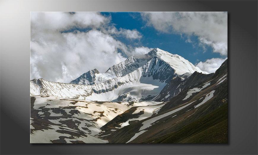 Das Wandbild Himalaya