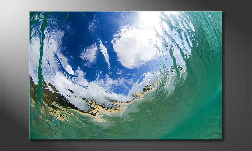 Das Wandbild Underwater Sky