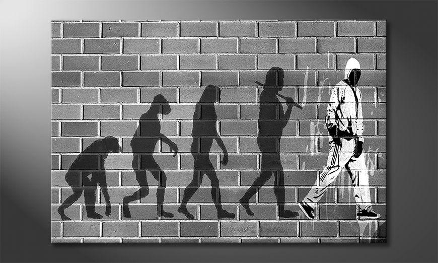 Das gedruckte Bild Evolution