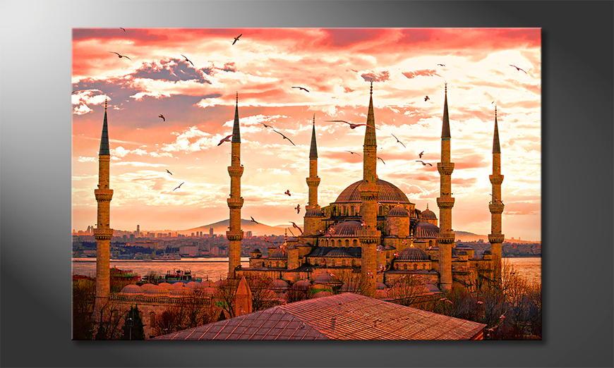 Das moderne Bild Blue Mosque
