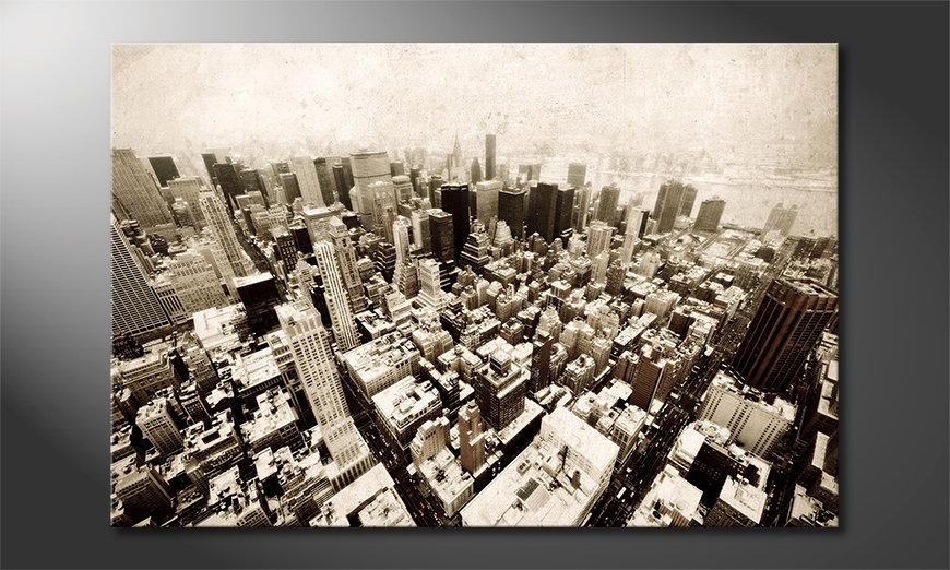 Das moderne Bild New York Vintage