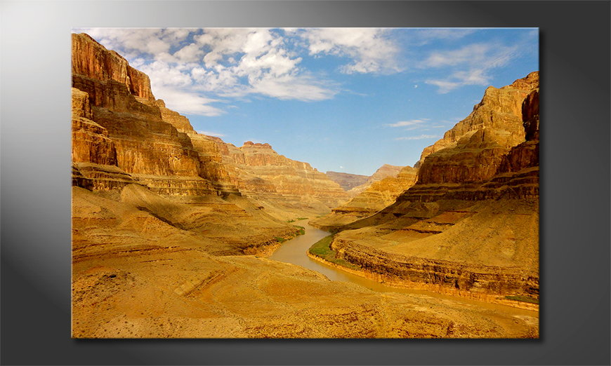 Das moderne Wandbild Grand Canyon