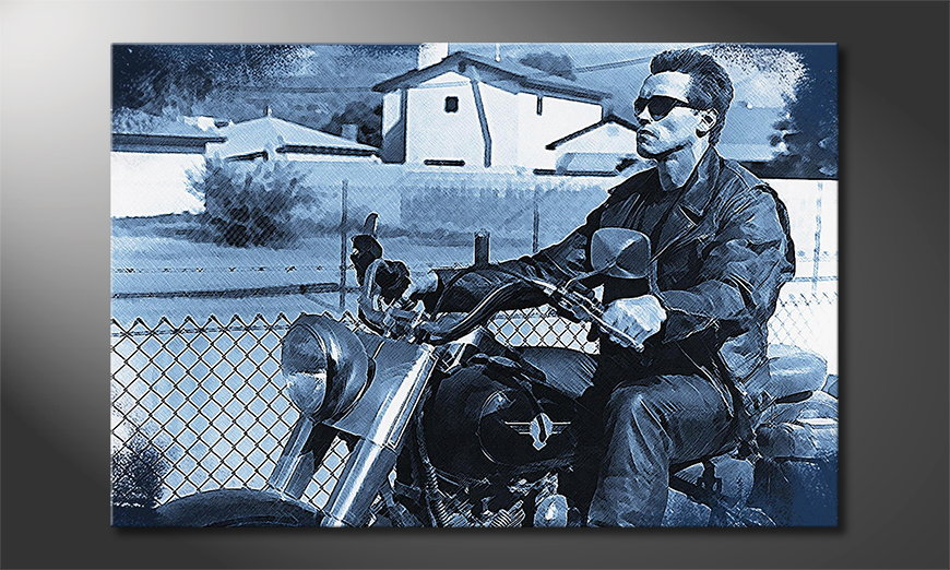 Das moderne Wandbild Terminator