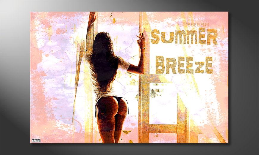 Unser erotisches Wandbild Summer Breeze