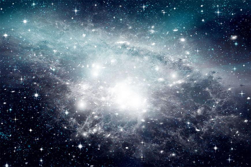 Das Weltall auf Tapete Unsere Galaxie