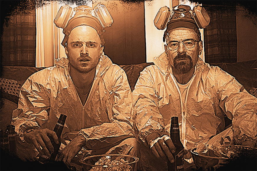 Fototapete Breaking Bad ab 120x80cm