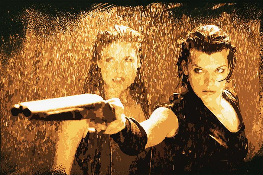 Fototapete Resident Evil ab 120x80cm