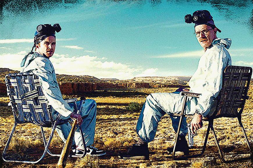 Fototapete Walter and Jesse ab 120x80cm