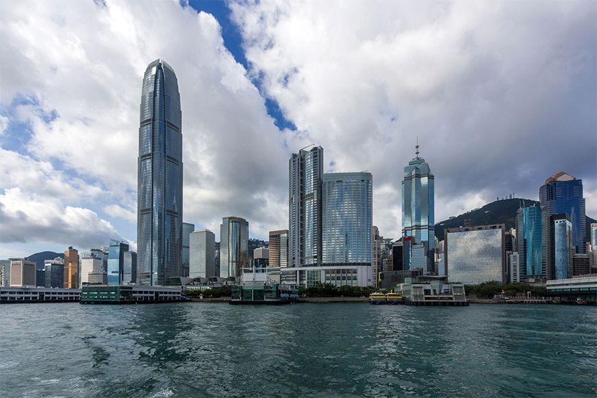 Vlies Foto-Tapete Hongkong in S bis XXL