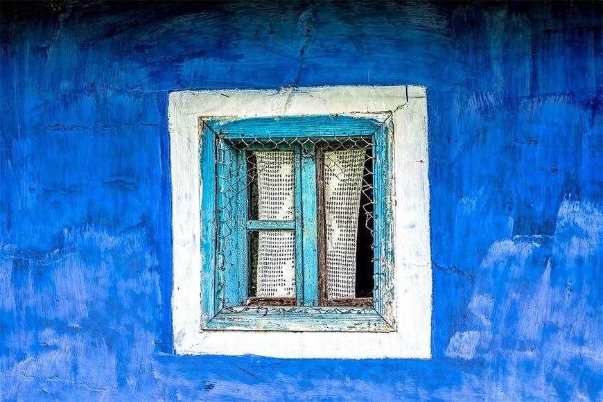 Vlies Fototapete Altes Fenster in S bis XXL