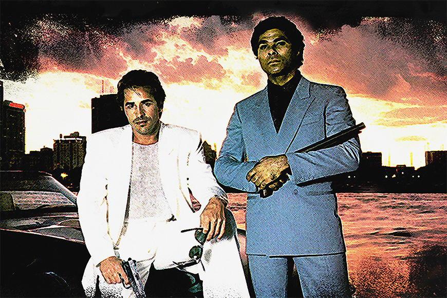 Vlies Fototapete Miami Vice ab 120x80cm