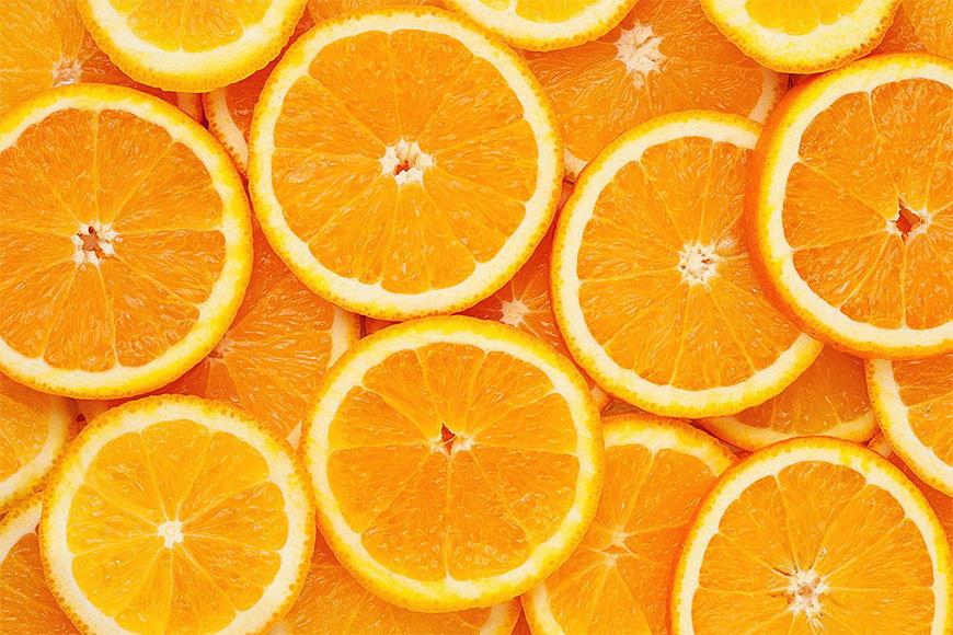Vliestapete Orange Moment ab 120x80cm