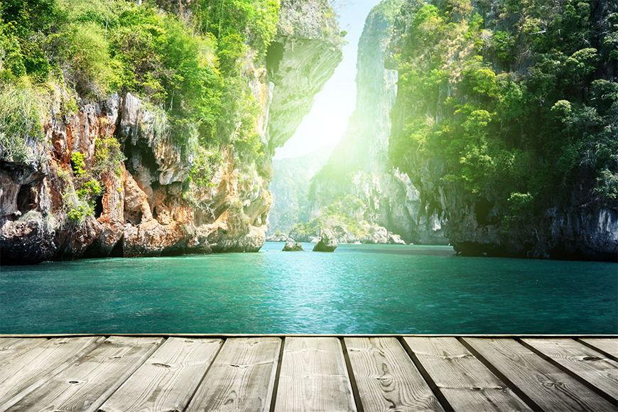 Vliestapete Thai Moment in S bis XXL